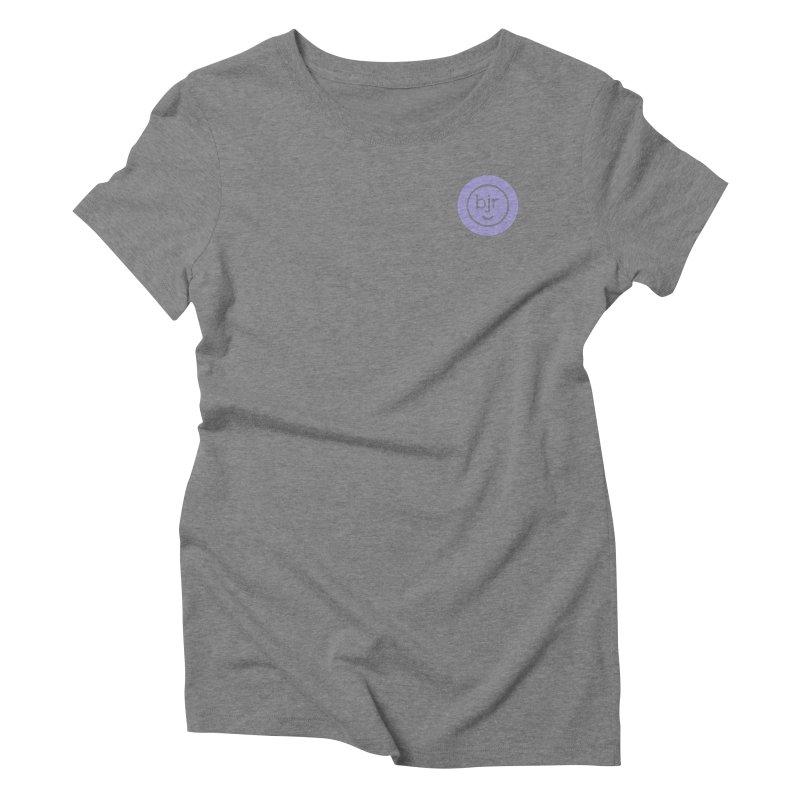 BJR logo Women's Triblend T-Shirt by bornjustright's Artist Shop