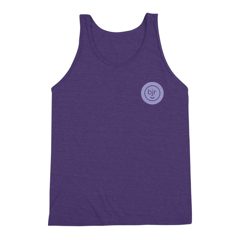 BJR logo Men's Triblend Tank by bornjustright's Artist Shop