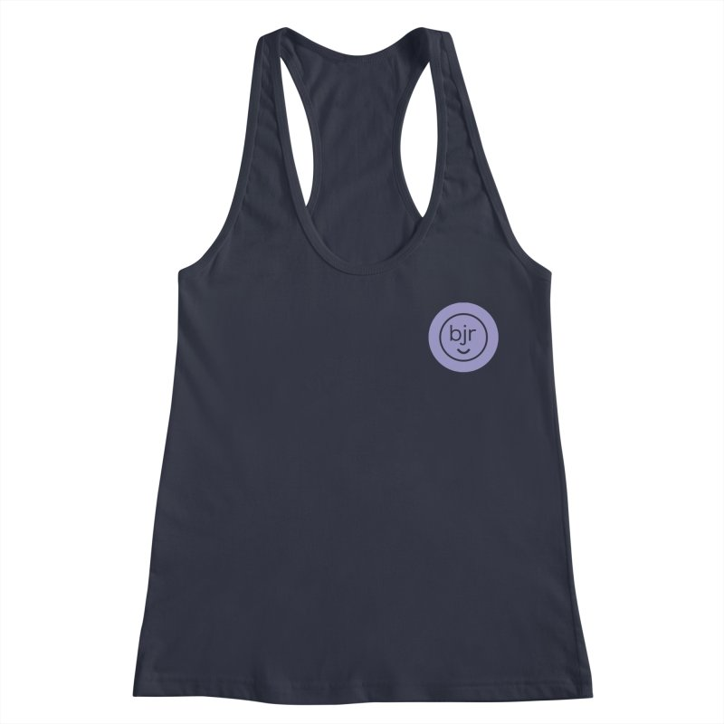 BJR logo Women's Racerback Tank by bornjustright's Artist Shop