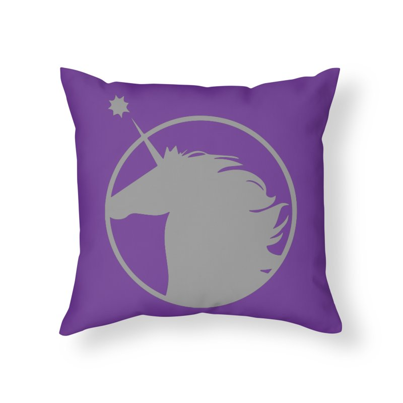 PROJECT UNICORN Home Throw Pillow by bornjustright's Artist Shop