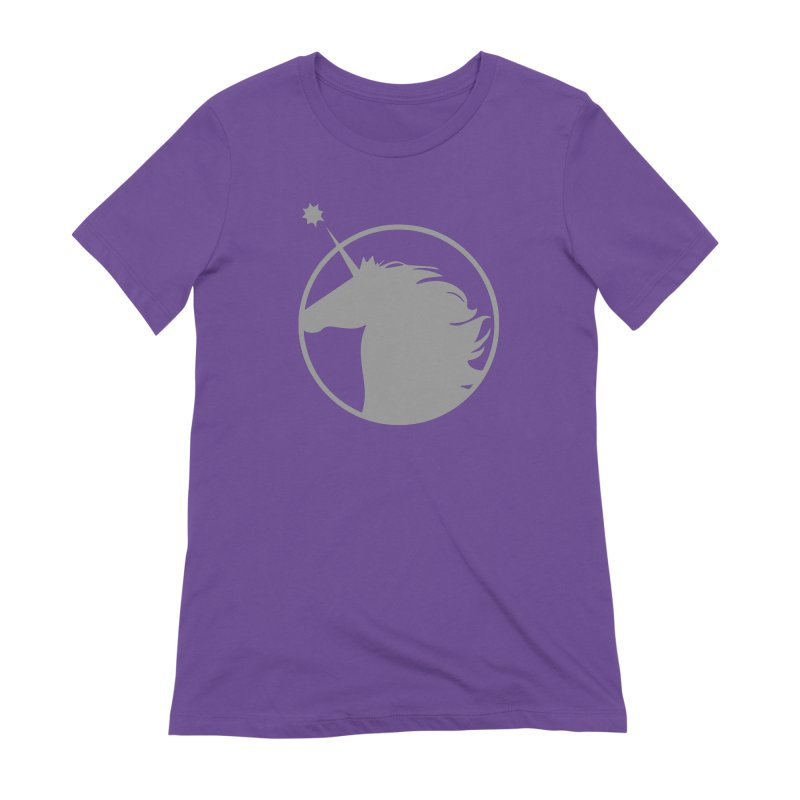 PROJECT UNICORN Women's Extra Soft T-Shirt by bornjustright's Artist Shop