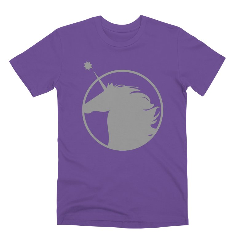 PROJECT UNICORN Men's Premium T-Shirt by bornjustright's Artist Shop
