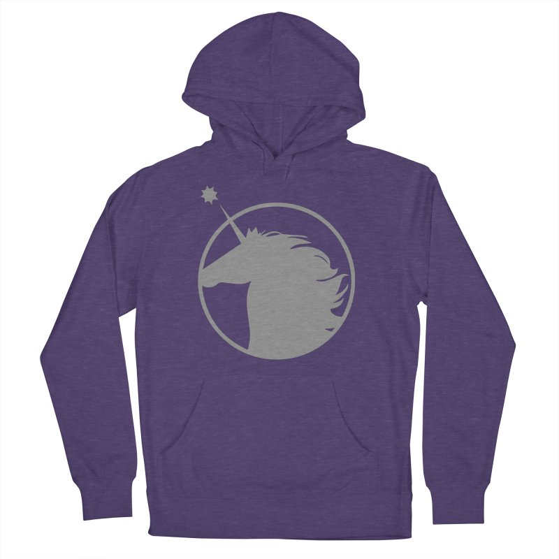 PROJECT UNICORN Women's French Terry Pullover Hoody by bornjustright's Artist Shop