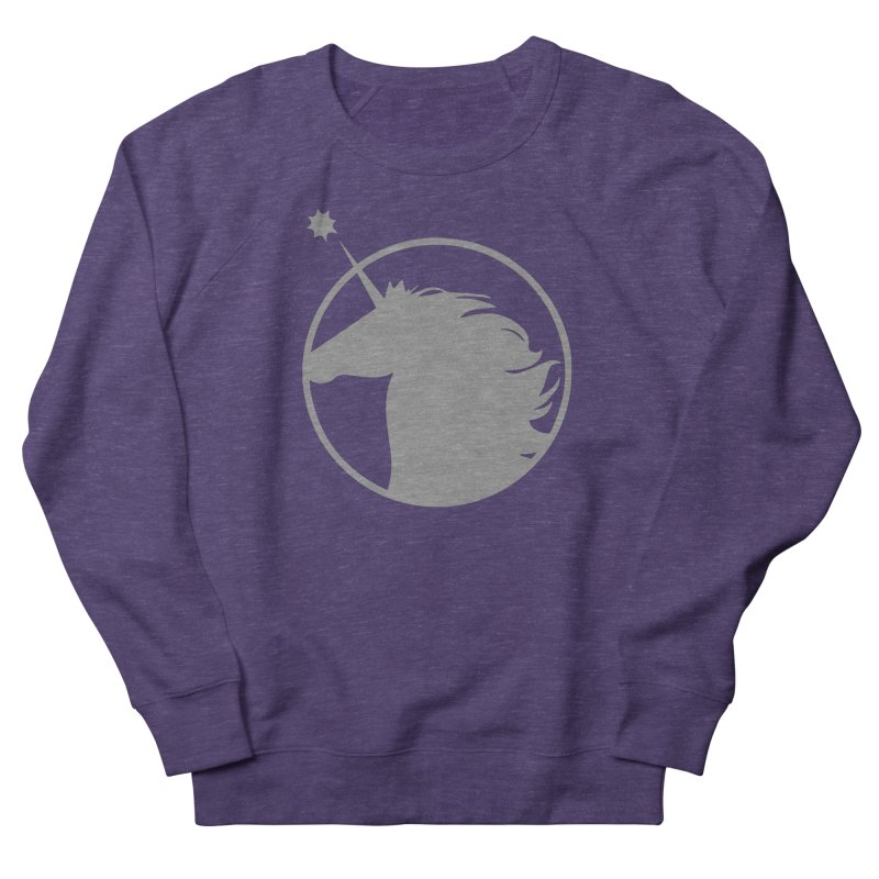 PROJECT UNICORN Men's French Terry Sweatshirt by bornjustright's Artist Shop