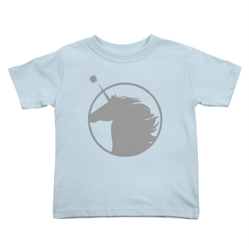PROJECT UNICORN Kids Toddler T-Shirt by bornjustright's Artist Shop