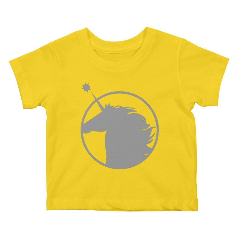 PROJECT UNICORN Kids Baby T-Shirt by bornjustright's Artist Shop