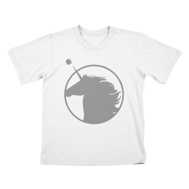 PROJECT UNICORN Kids T-Shirt by bornjustright's Artist Shop