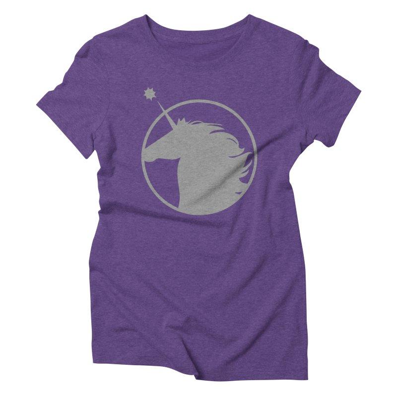 PROJECT UNICORN Women's Triblend T-Shirt by bornjustright's Artist Shop