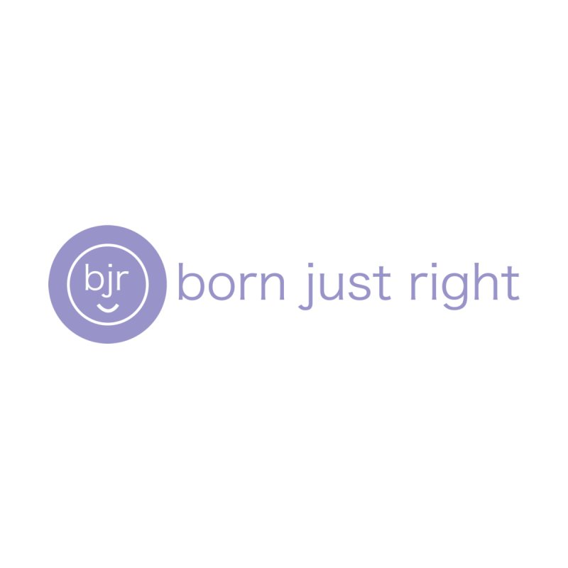 BJR Logo with text Men's T-Shirt by bornjustright's Artist Shop