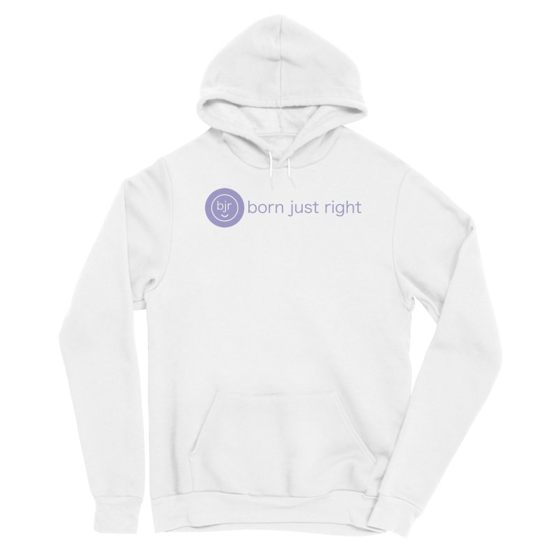 BJR Logo with text Women's Pullover Hoody by bornjustright's Artist Shop