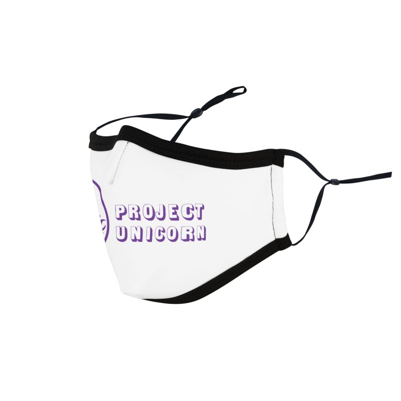 Project Unicorn Logo with text Accessories Face Mask by bornjustright's Artist Shop
