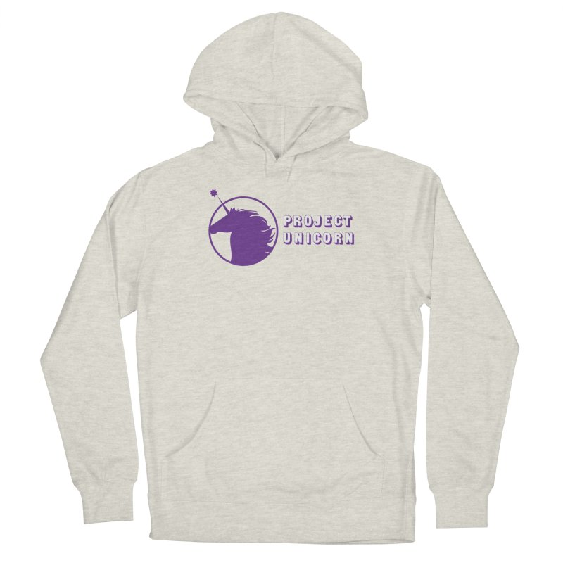 Project Unicorn Logo with text Women's Pullover Hoody by bornjustright's Artist Shop