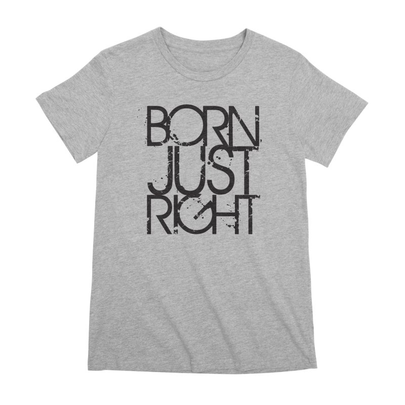 BJR Spray paint Women's Premium T-Shirt by bornjustright's Artist Shop