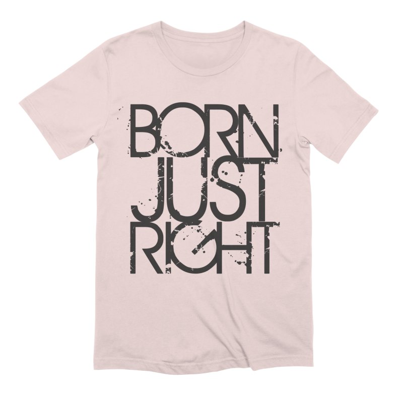 BJR Spray paint in Men's Extra Soft T-Shirt Soft Pink by bornjustright's Artist Shop