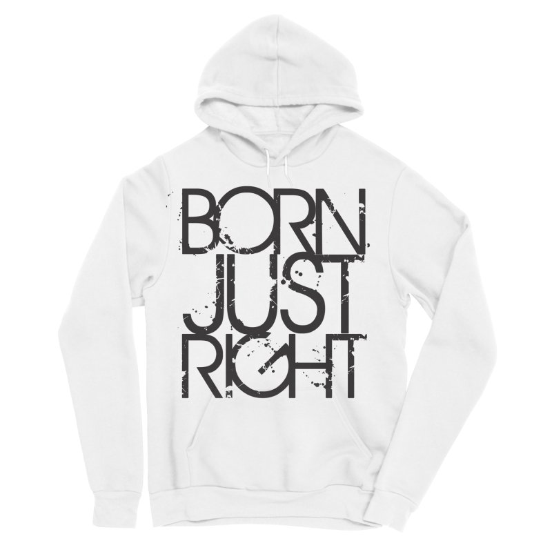 BJR Spray paint Women's Sponge Fleece Pullover Hoody by bornjustright's Artist Shop