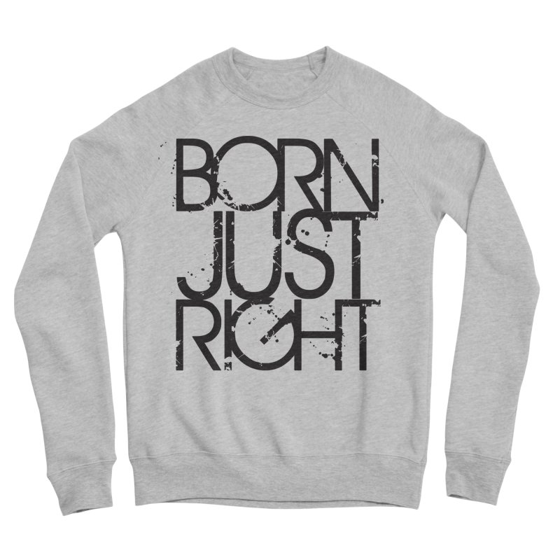 BJR Spray paint Men's Sponge Fleece Sweatshirt by bornjustright's Artist Shop
