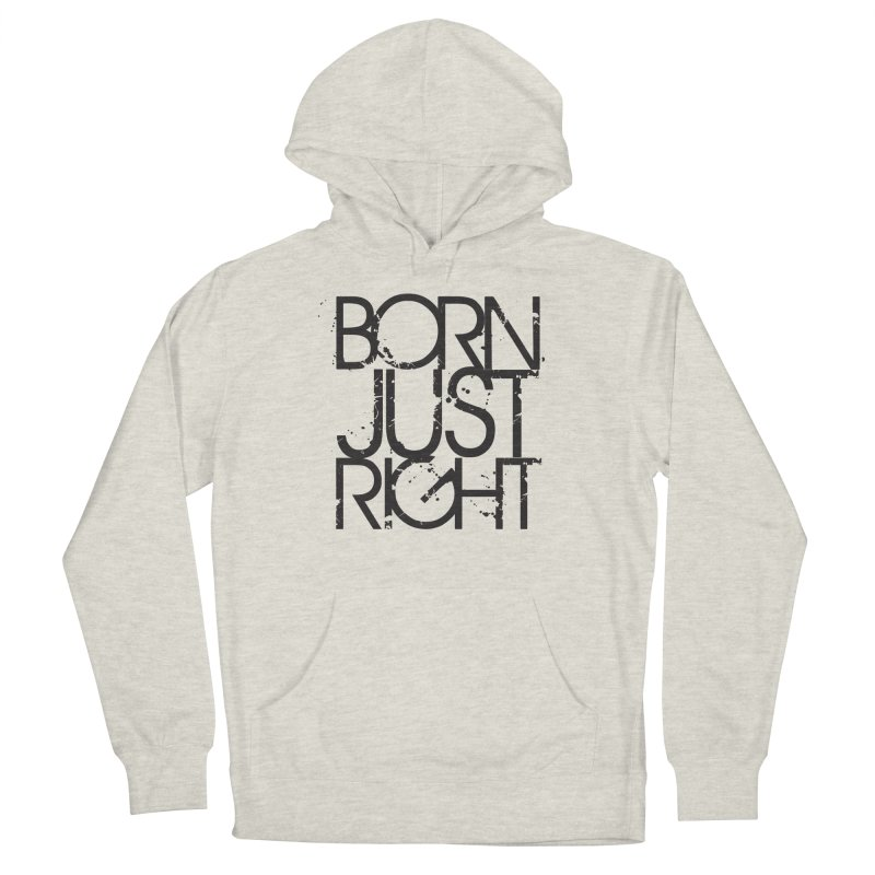 BJR Spray paint Women's French Terry Pullover Hoody by bornjustright's Artist Shop