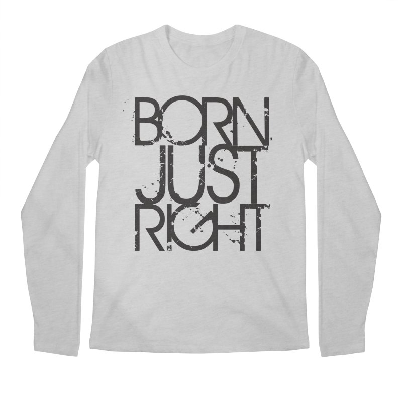 BJR Spray paint Men's Longsleeve T-Shirt by bornjustright's Artist Shop