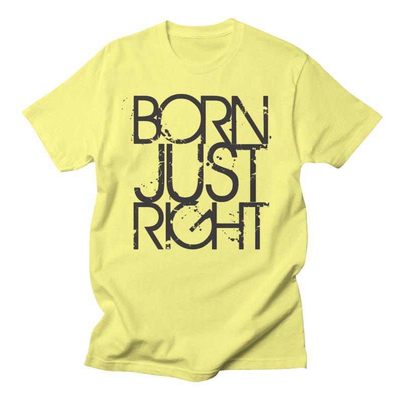 BJR Spray paint Men's T-Shirt by bornjustright's Artist Shop