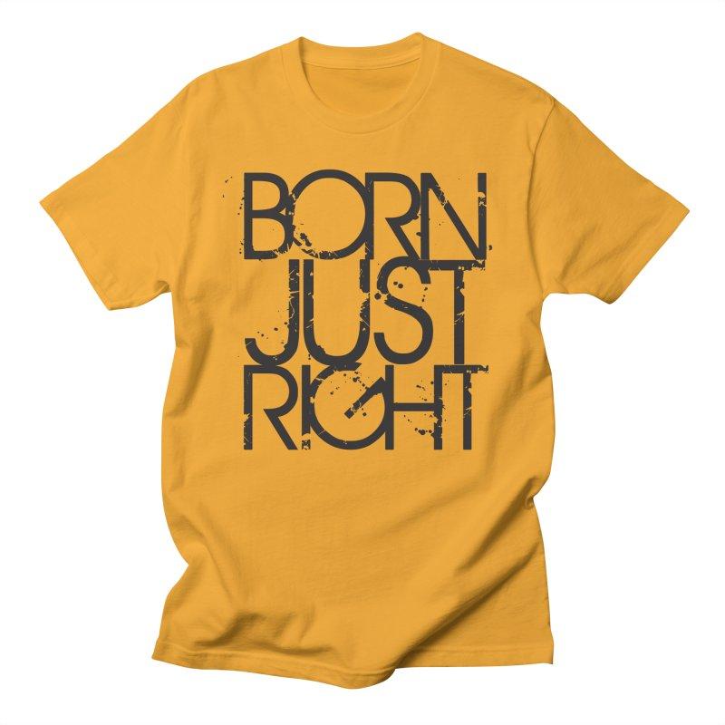 BJR Spray paint Men's Regular T-Shirt by bornjustright's Artist Shop