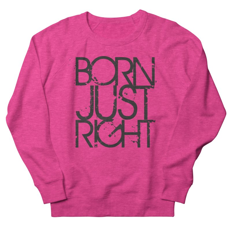 BJR Spray paint Women's French Terry Sweatshirt by bornjustright's Artist Shop