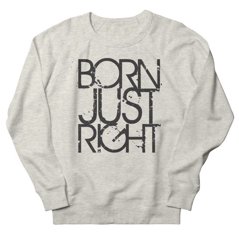 BJR Spray paint Men's French Terry Sweatshirt by bornjustright's Artist Shop