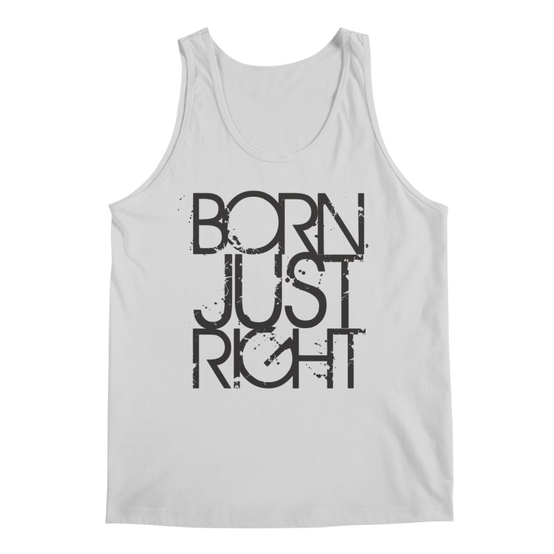 BJR Spray paint Men's Regular Tank by bornjustright's Artist Shop
