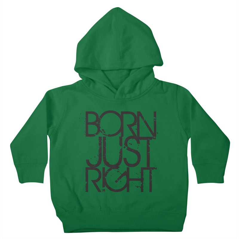 BJR Spray paint Kids Toddler Pullover Hoody by bornjustright's Artist Shop