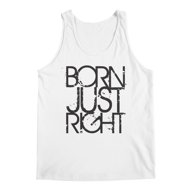 BJR Spray paint Men's Tank by bornjustright's Artist Shop
