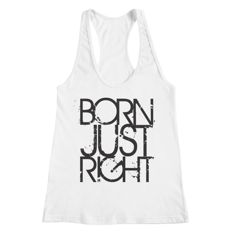 BJR Spray paint Women's Racerback Tank by bornjustright's Artist Shop