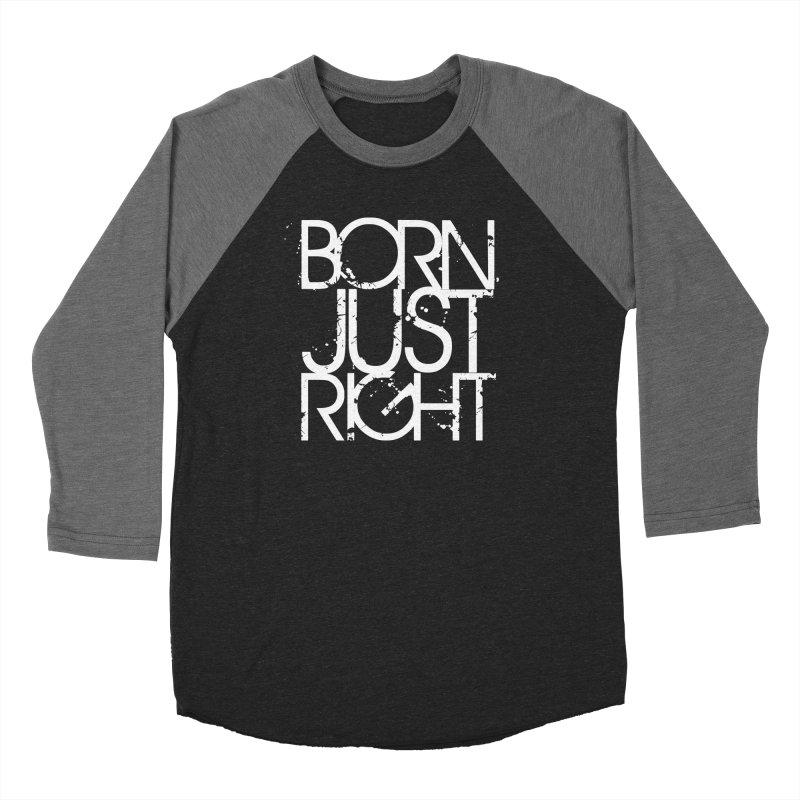 BJR Spray paint white Men's Baseball Triblend Longsleeve T-Shirt by bornjustright's Artist Shop