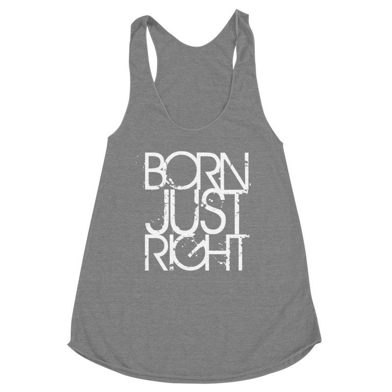 BJR Spray paint white Women's Tank by bornjustright's Artist Shop