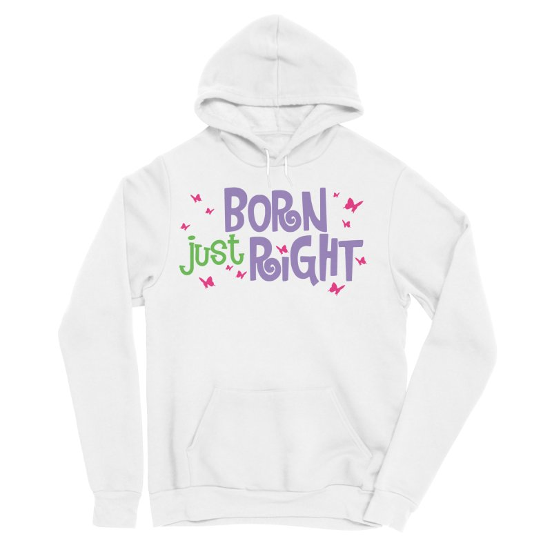 BJR Butterfly Women's Sponge Fleece Pullover Hoody by bornjustright's Artist Shop