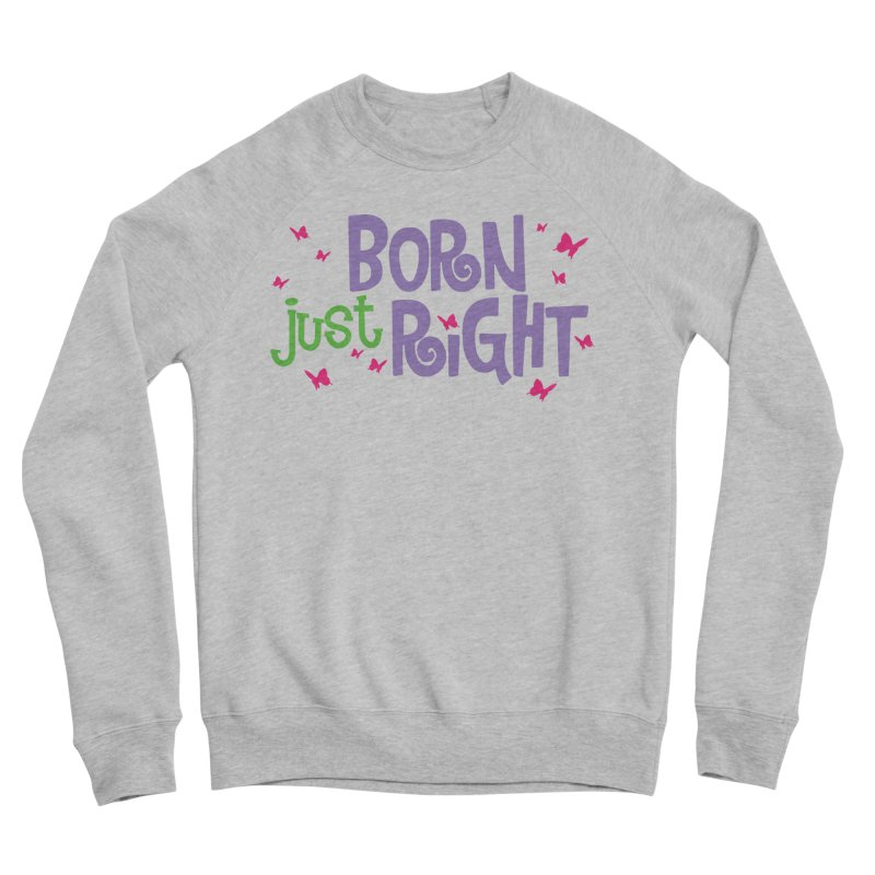 BJR Butterfly Women's Sponge Fleece Sweatshirt by bornjustright's Artist Shop