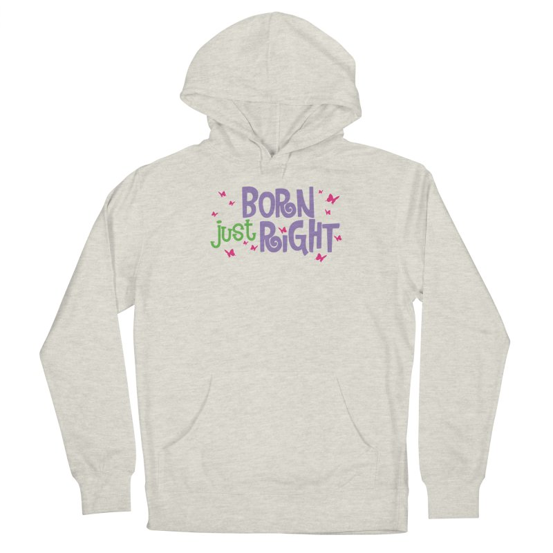 BJR Butterfly Men's French Terry Pullover Hoody by bornjustright's Artist Shop