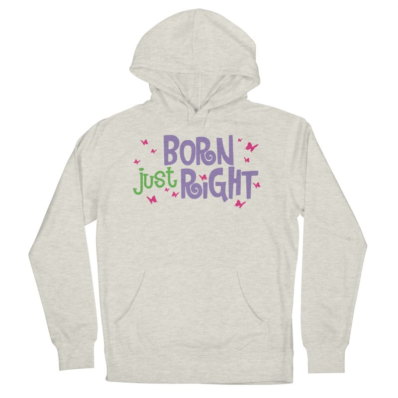 BJR Butterfly Women's French Terry Pullover Hoody by bornjustright's Artist Shop