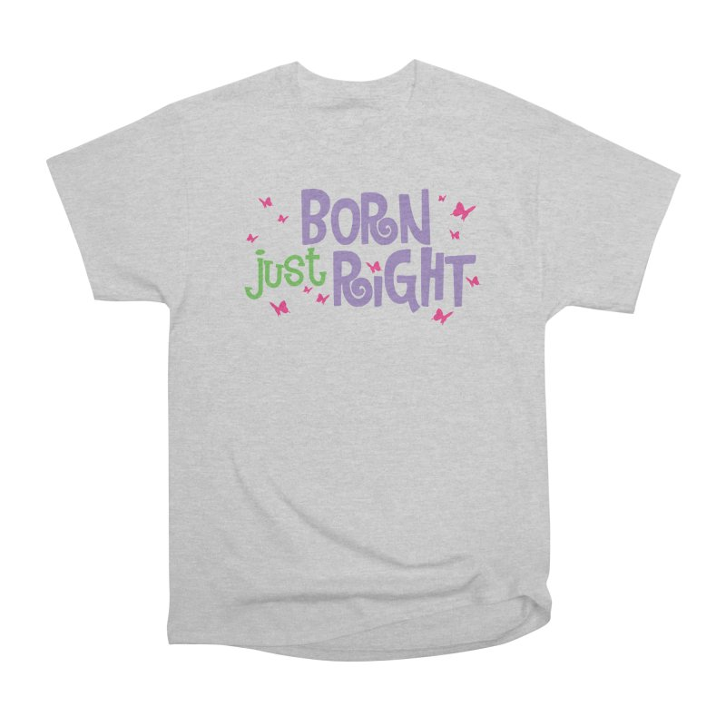 BJR Butterfly Men's Heavyweight T-Shirt by bornjustright's Artist Shop