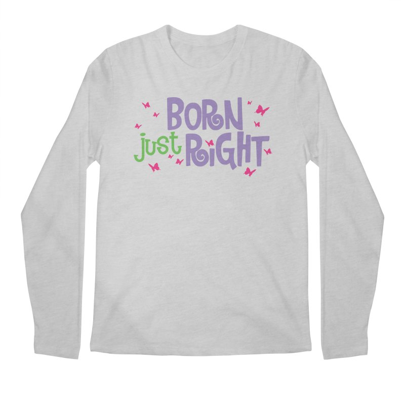 BJR Butterfly Men's Longsleeve T-Shirt by bornjustright's Artist Shop