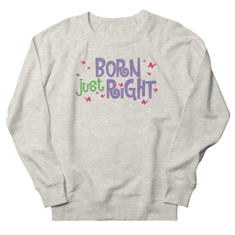 BJR Butterfly Men's French Terry Sweatshirt by bornjustright's Artist Shop