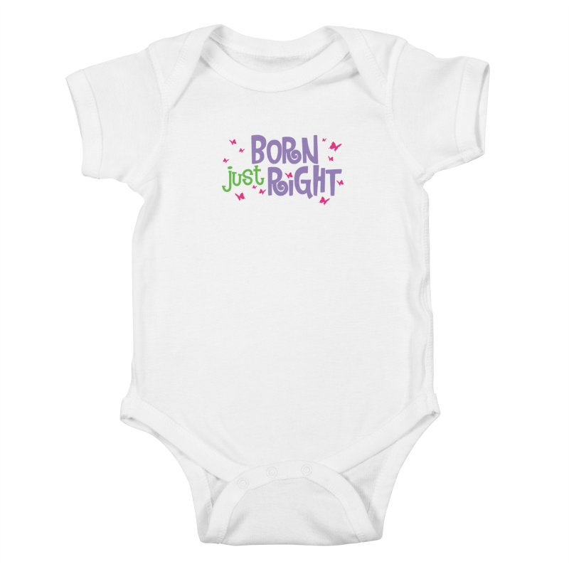 BJR Butterfly Kids Baby Bodysuit by bornjustright's Artist Shop