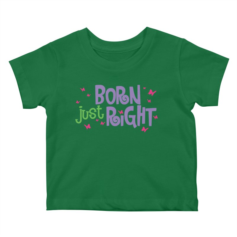 BJR Butterfly Kids Baby T-Shirt by bornjustright's Artist Shop