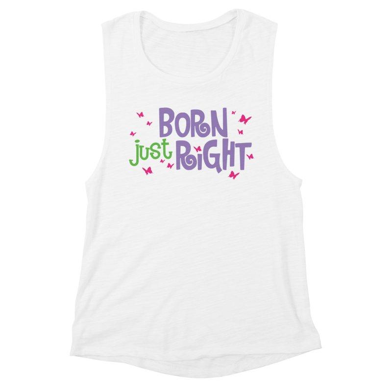 BJR Butterfly Women's Muscle Tank by bornjustright's Artist Shop
