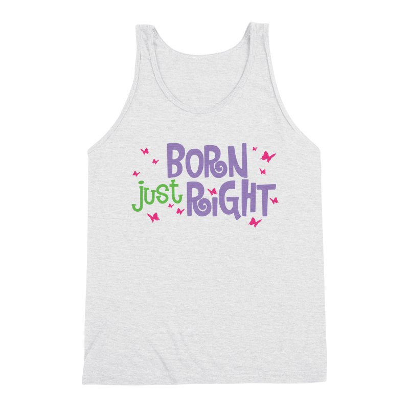 BJR Butterfly Men's Tank by bornjustright's Artist Shop