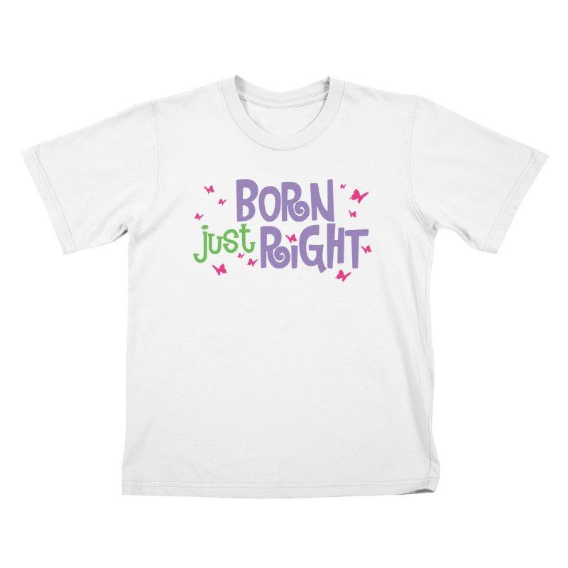 BJR Butterfly Kids T-Shirt by bornjustright's Artist Shop