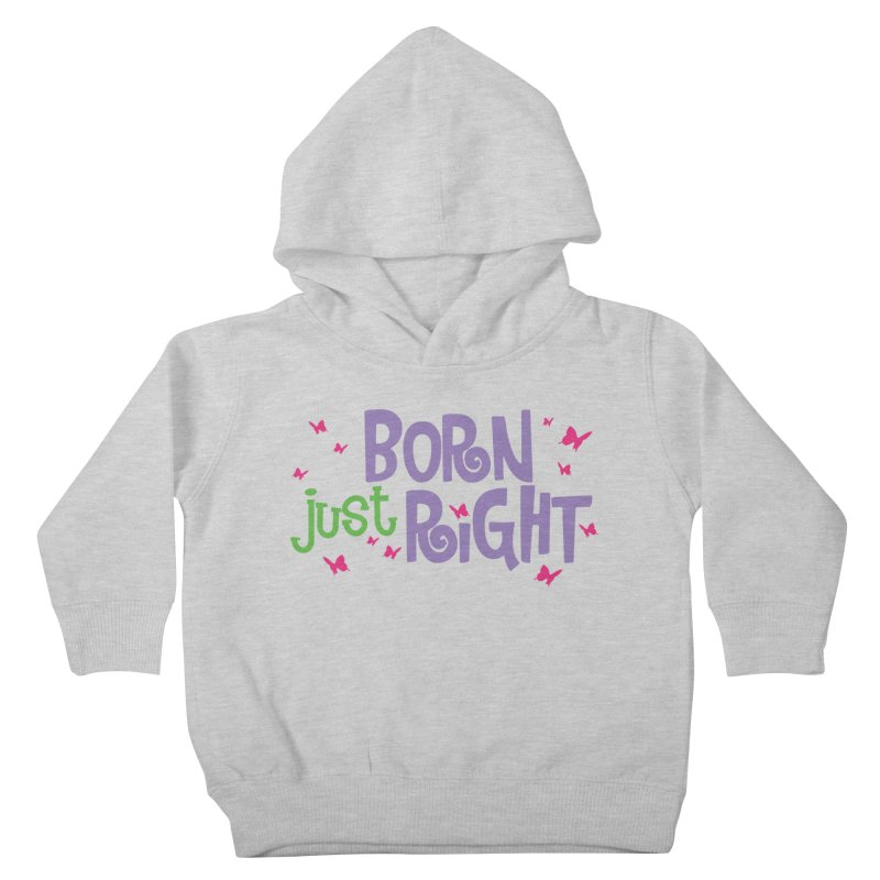 BJR Butterfly Kids Toddler Pullover Hoody by bornjustright's Artist Shop