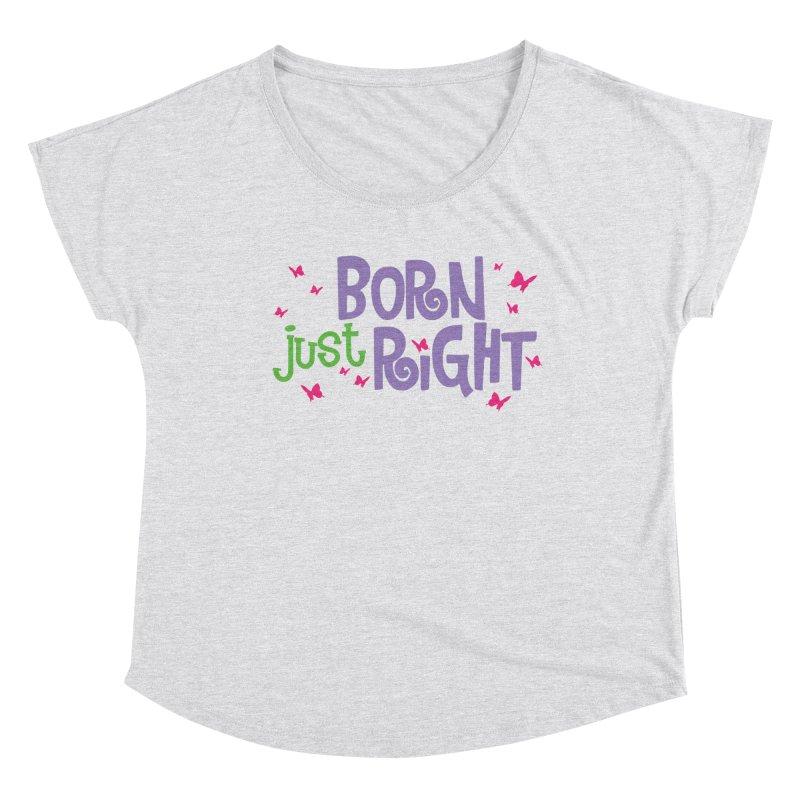 BJR Butterfly Women's Dolman Scoop Neck by bornjustright's Artist Shop