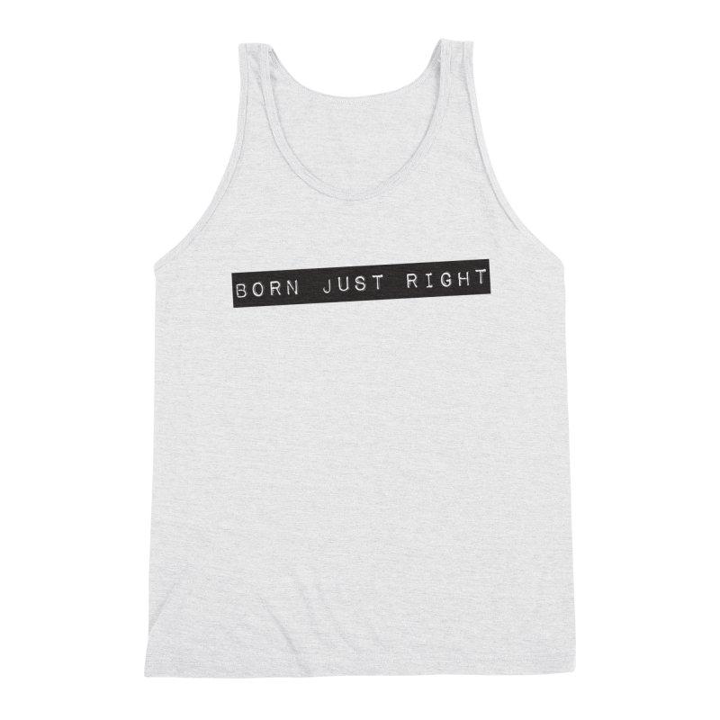 BJR Black Bar Men's Tank by bornjustright's Artist Shop