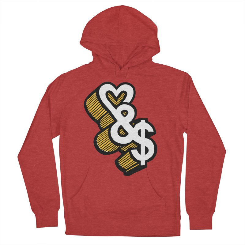 love & money Men's Pullover Hoody by bortwein's Artist Shop