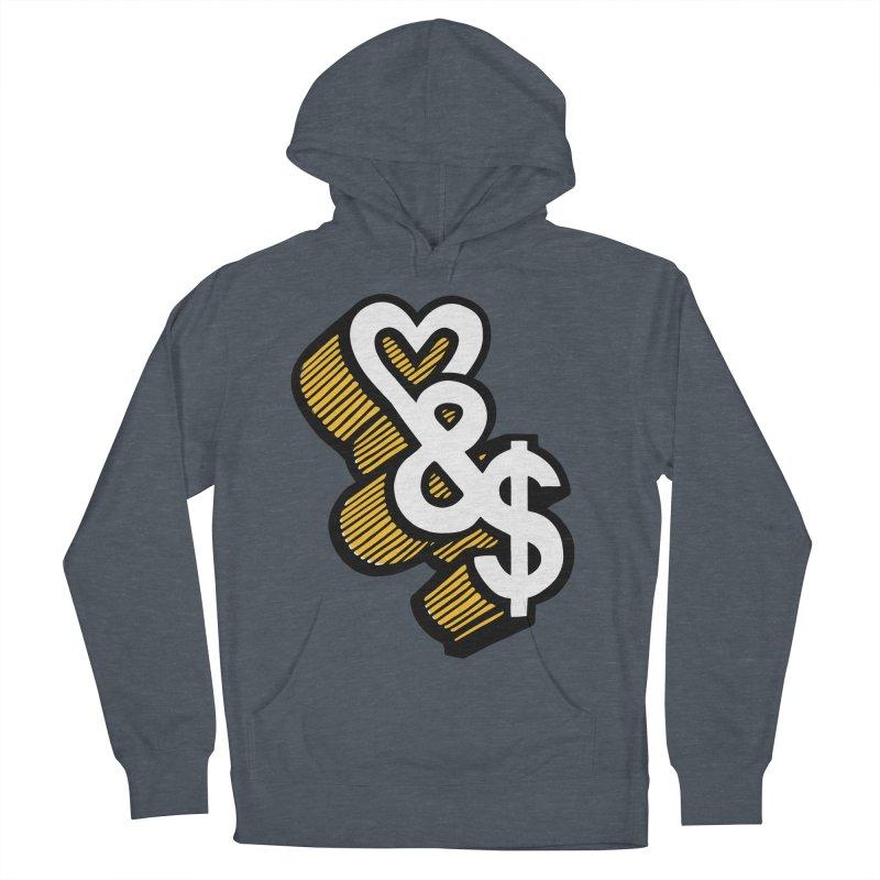 love & money Women's Pullover Hoody by bortwein's Artist Shop