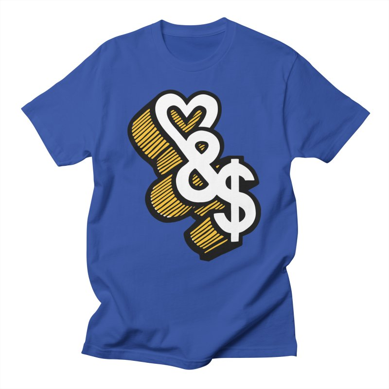 love & money Women's Unisex T-Shirt by bortwein's Artist Shop